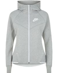 Nike - Tech Fleece Zipped Sweatshirt - Lyst