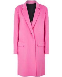Helmut Lang - Tailored Wool Coat - Lyst