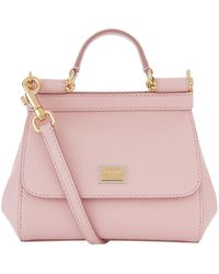 Dolce & Gabbana - Micro Sicily Top Handle Bag - Lyst