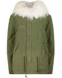 Mr & Mrs Italy - Fur Lined Army Parka - Lyst