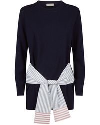 Sandro - Sleeve Trim Jumper - Lyst