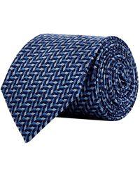 Armani - Jacquard Silk Tie - Lyst