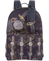 Valentino | Zandra Rhodes Space Print Backpack, Navy, One Size | Lyst