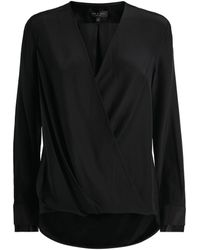 Rag & Bone - Silk Victor Wrap Blouse - Lyst