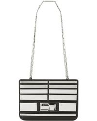 Elie Saab - Small Metal Plaque Shoulder Bag - Lyst