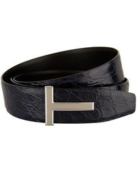 Tom Ford - Reversible Crocodile Belt - Lyst