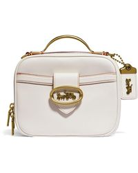 COACH Leather Cassie Cross-body Bag - White
