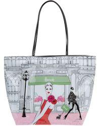 Harrods Fashion Window Shoulder Bag - Multicolor