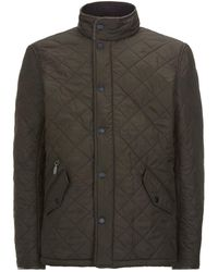 Barbour - Powell Quilted Jacket - Lyst