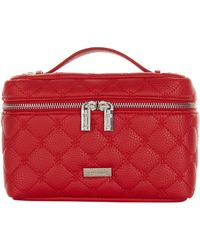 Harrods Acton Cosmetic Bag - Red