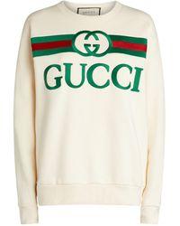 Gucci Oversized Logo Sweatshirt - Green