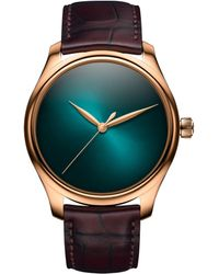 H. Moser & Cie Endeavour Centre Seconds Concept Watch 40mm - Blue