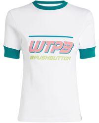 Pushbutton Wtpb Logo T-shirt - Green