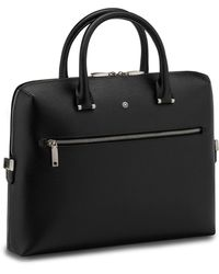 Montblanc Leather 4810 Westside Document Case - Black