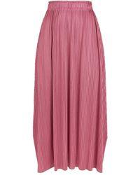 Pleats Please Issey Miyake Pliss Midi Skirt - Purple