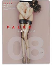 Falke Black Lunelle 8 Stockings