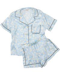 Morgan Lane Katelyn Fiona Pyjama Set - Blue