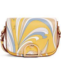 Emilio Pucci Leather Cross-body Bag - Yellow