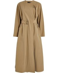 Isabel Marant Ilifawn Belted Trench Coat - Natural