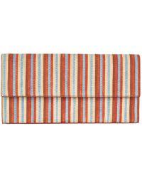 Diane von Furstenberg - Striped Clutch Bag - Lyst