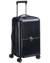 Delsey Turenne 4-double Wheels Trolley Case - Black