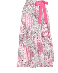 MAX&Co. Striped Maxi Skirt - Pink