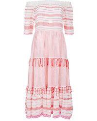lemlem - Tiki Strapless Maxi Dress - Lyst