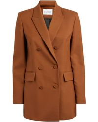 Claudie Pierlot Double-breasted Blazer - Brown