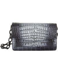 Nancy Gonzalez - Small Crocodile Chain Cross Body Bag - Lyst
