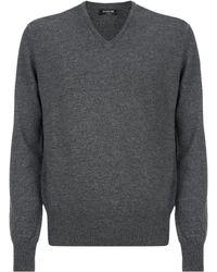 Harrods - Cashmere V-neck Sweater - Lyst
