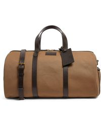 Polo Ralph Lauren Canvas Leather-trim Holdall - Brown