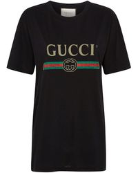 Gucci Cotton T-shirt - Black