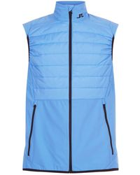 J.Lindeberg - Quilted Gilet - Lyst