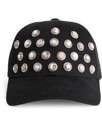 Amedeo All Cameos On Me Baseball Cap - Black