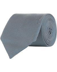 BOSS - Micro Pattern Tie - Lyst