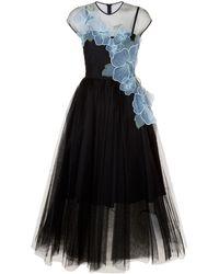 Pinko - Tulle Skirt Dress - Lyst