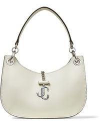 Jimmy Choo Small Leather Varenne Hobo Shoulder Bag - Multicolour