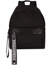 DSquared² - Logo Zip Pull Backpack - Lyst