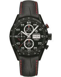 Tag Heuer Carrera Calibre 16 Automatic Chronograph Watch - Black