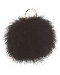 Harrods - Fox Fur Pom Pom Charm - Lyst