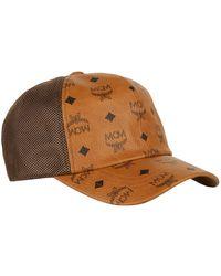 7c7bf610e3a MCM Visetos Bucket Hat in Brown - Lyst