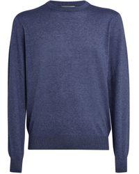 Corneliani Cotton-blend Sweatshirt - Blue