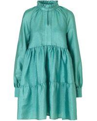 Stine Goya - Jasmin Tiered Mini Dress - Lyst