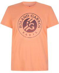 adidas - Roland Garros Logo T-shirt - Lyst