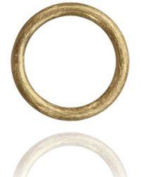 Annoushka - Hoopla Small Yellow Gold Pendant - Lyst