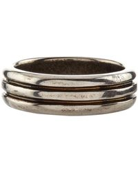Givenchy | Logo Ring, Silver, 19 | Lyst