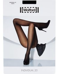 Wolford - Black Individual 20 Tights - Lyst