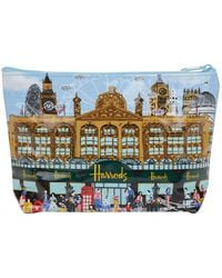 Harrods - Summertime Travel Pouch - Lyst
