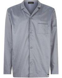Hanro - Jacquard Cotton Pyjama Set - Lyst