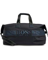 BOSS by HUGO BOSS Logo Holdall - Blue